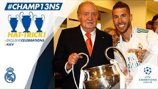 🏆🙌 Our Champions League celebrations   Sede de la Comunidad de Madrid