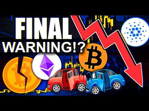 CARDANO FINAL WARNING!!!!!! Last Chance
