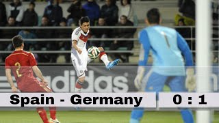 Spain vs Germany 2014 Official Friendly Football Match Highlights and Goal 18/11/2014