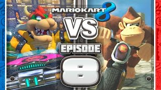 GOING TRYHARD Mario Kart 8 Online Team Races - Ep 8 w/ TheKingNappy + Friends!
