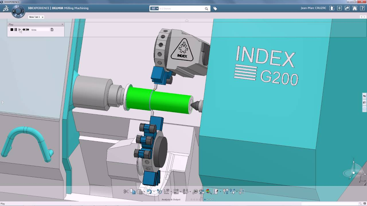 Catia CAM - Follow Turning