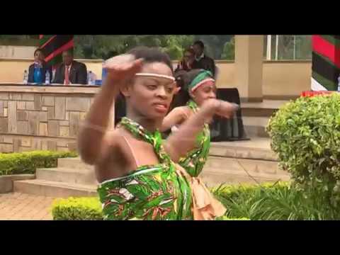 BURUNDI CULTURAL DANCERS (GIRLS)PERFORM DURING WORLD REFUGEE DAY IN NAIROBI