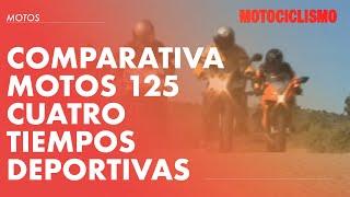 Comparativa Motos 125 cuatro tiempos deportivas