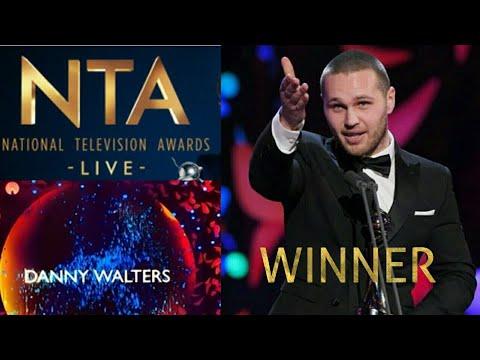 EastEnders NTA 2018 - Danny Walters Wins Best Newcomer Award