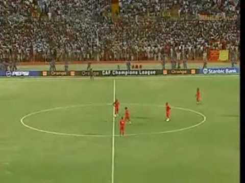 Jonas SAKUWAHA - Hat Trick in African Champions League
