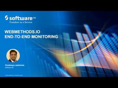 webMethods DevBytes: webMethods.io End-To-End Monitoring