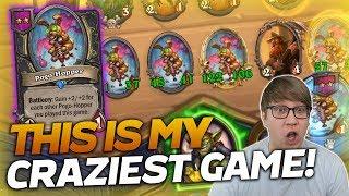 THIS IS MY CRAZIEST GAME YET! | Hearthstone Battlegrounds | Savjz