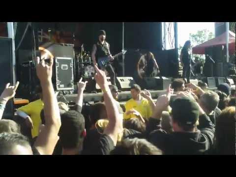 Rockstar Mayhem 7/1/12 - Anthrax - I Am the Law @ Shoreline Mt View Q3HD
