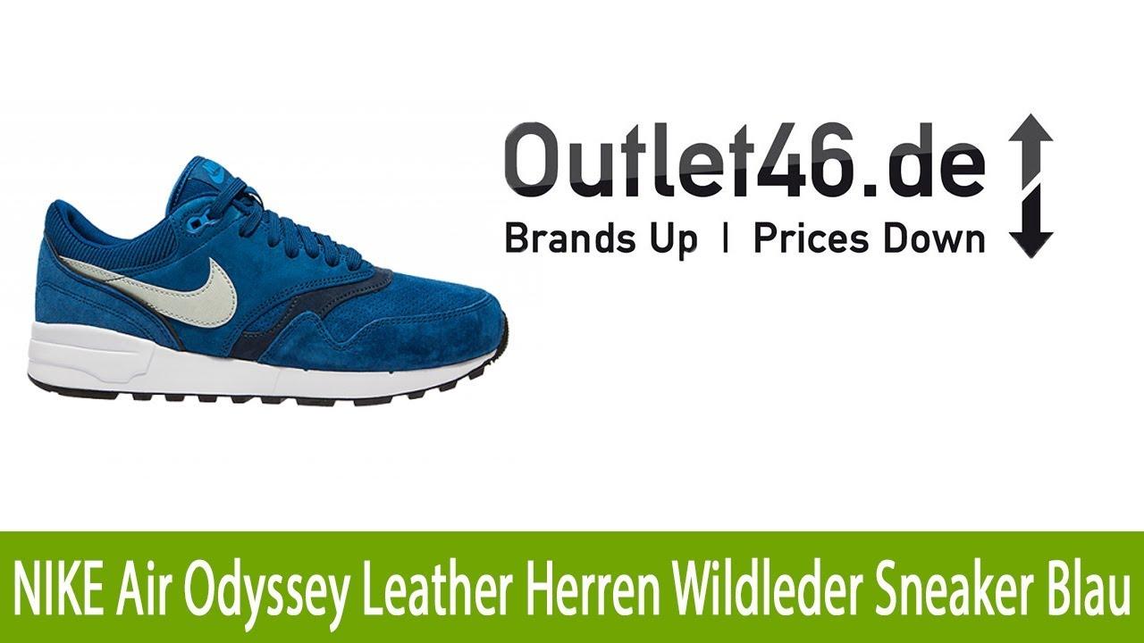 Sneaker Exklusiver Air l Leather Herren NIKE Blau Odyssey Wildleder Rj54q3AL