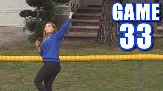 ALONDRA ROBS A HOMER! | Offseason Softball League | Game 33