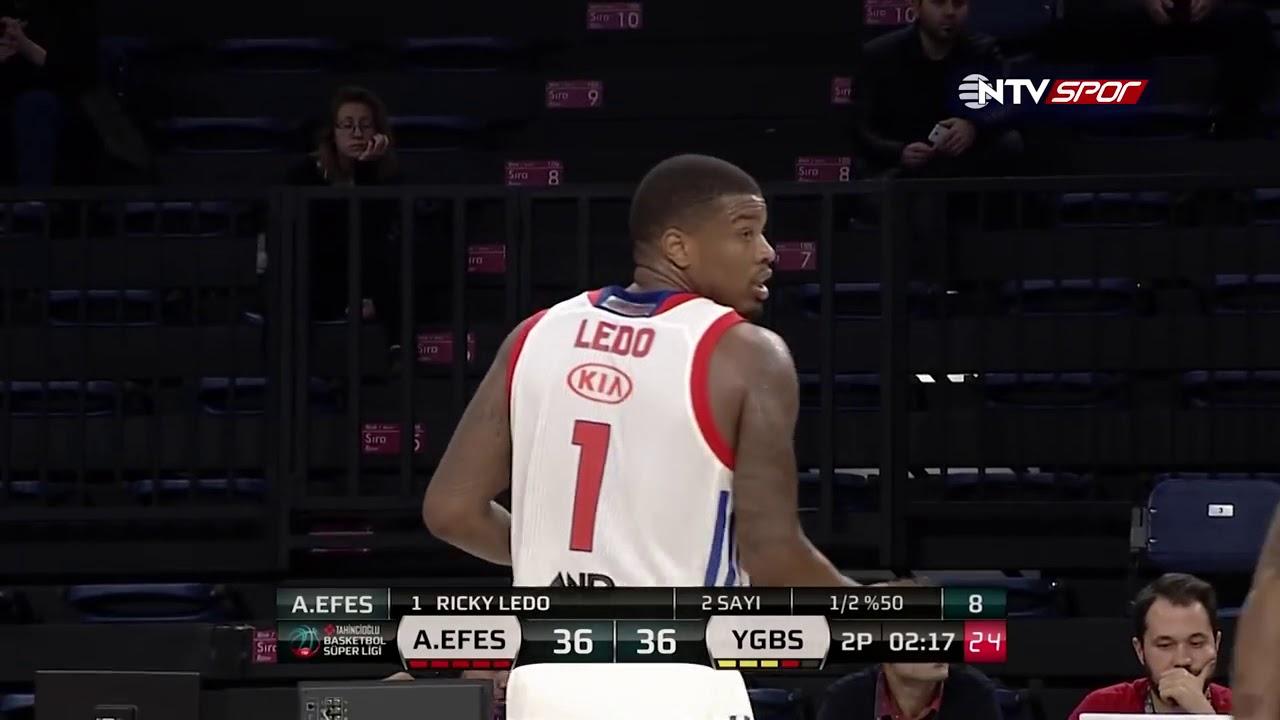 Basketbol Süper Ligi 6. Hafta: Anadolu Efes - Yeşilgiresun Belediyespor