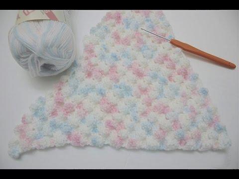How To Crochet The Puffy Corner To Corner C2c Bobble Stitch