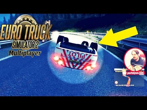 Otobanda Takla Attık   Euro Truck Simulator 2 Türkçe Multiplayer