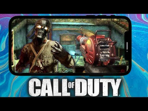 """Kino Der Toten On Call Of Duty Mobile Zombies """"Black Ops Zombies"""" 