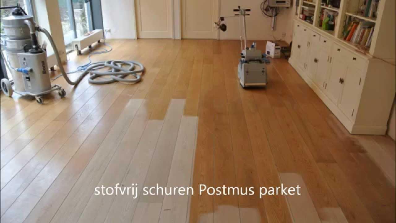 Grenen vloer afgewerkt met lak door onderhoudvanparket wood