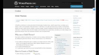 Wordpress Child Theme Tutorial   Part One   RR Foundation Bangla Tutorials
