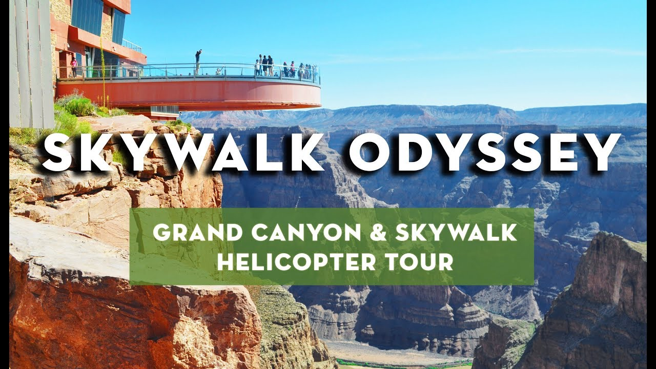 Grand Canyon Helicopter Tour With Skywalk Skywalk Odyssey