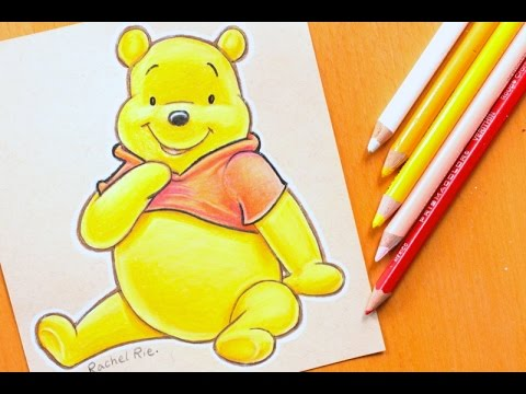 speed drawing disney s winnie the pooh youtube