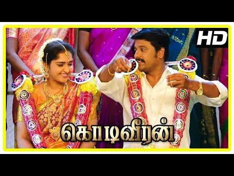 Kodi Veeran Movie Scenes | Vidharth And Sanusha Get Married  | Sasikumar | Mahima Nambiar