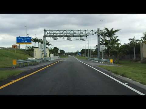 Sawgrass Expressway (FL 869 Exit 15) northbound/inbound