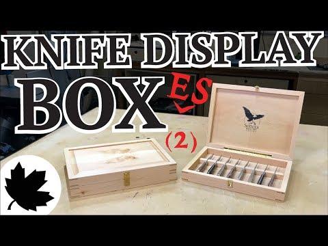 Knife Box - Reclaimed Fir Woodworking