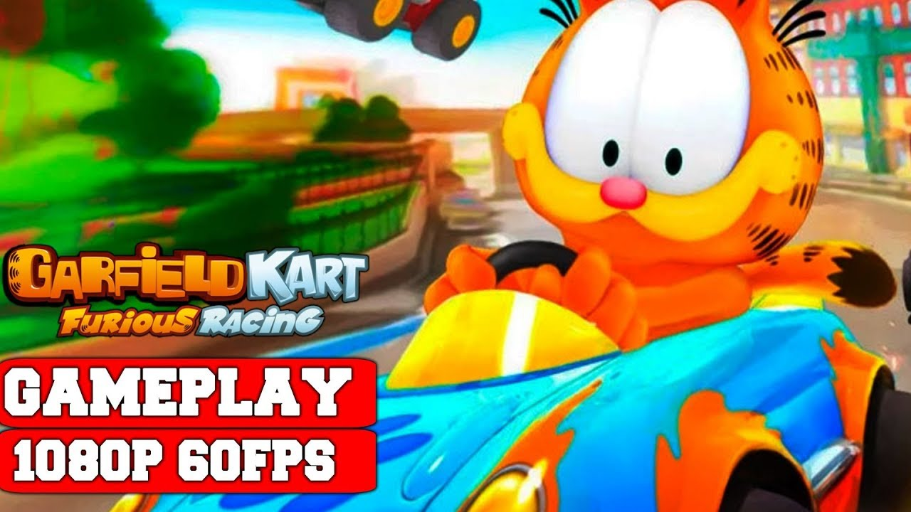 Garfield Kart Furious Racing Gameplay Pc Youtube