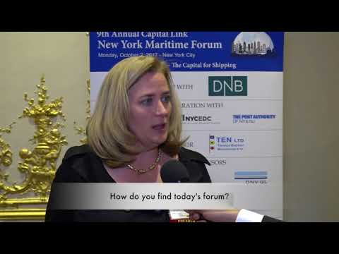 2017 9th Annual New York Maritime Forum - Mrs. Lois Zabrocky Interview