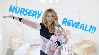 OUR NEW BABY NURSERY REVEAL and TOUR (FINALLY!)