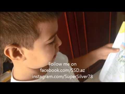 Azeri child Teymur about War, Peace and Happy Future