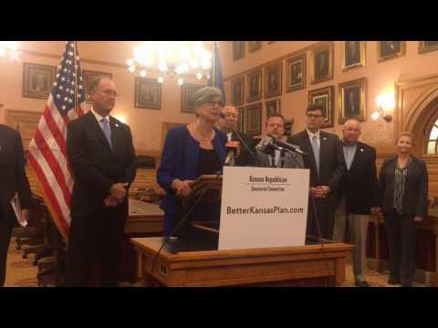 Kansas Senate President Susan Wagle blasts Democrats