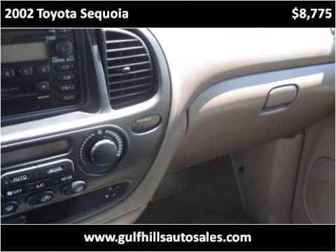 2002 Toyota Sequoia Used Cars Ocean Springs MS