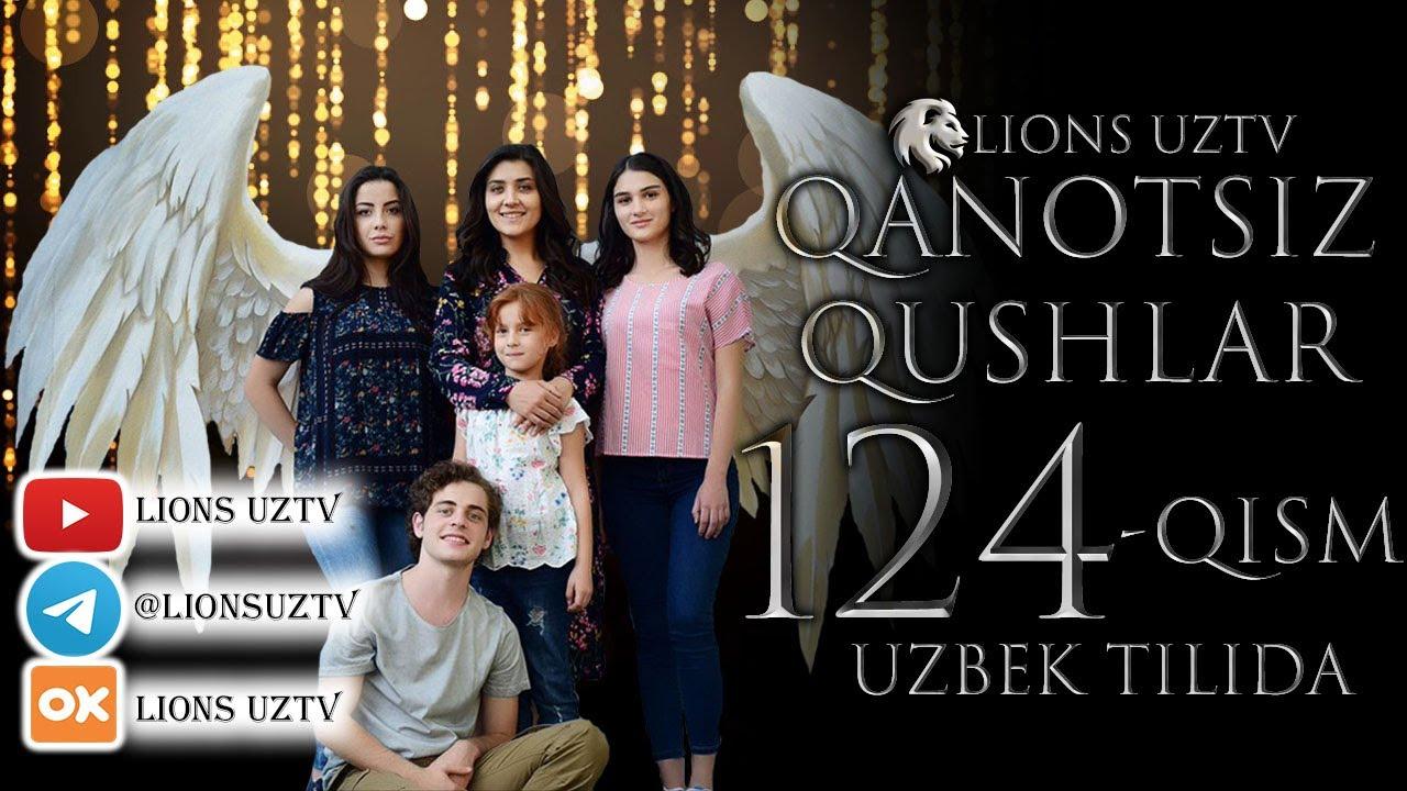 QANOTSIZ QUSHLAR 124 QISM TURK SERIALI UZBEK TILIDA | КАНОТСИЗ КУШЛАР 124 КИСМ УЗБЕК ТИЛИДА MyTub.uz TAS-IX