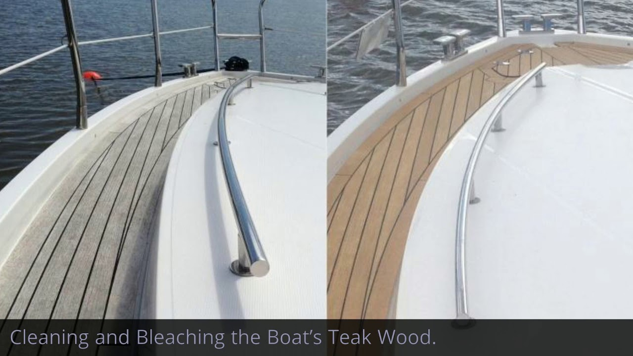 How to Restore Teak Wood on a Boat?