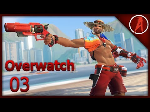 Where is his belly button?? | Overwatch: Gameplay- Episode: 3