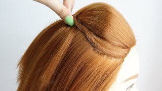 Puff Hairstyle Short Hair Open Hairstyles With Banana Puff Maker Simple Hairstyle For Lehenga
