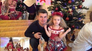 ВЛОГ Алёна на новогоднем утреннике в детском саду,детский канал