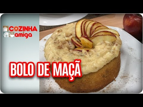 Bolo De Maçã Com Brigadeiro De Mel - Dalva Zanforlin | Cozinha Amiga (22/02/18)