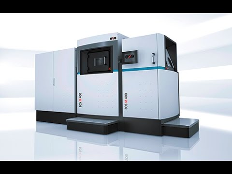 EOS M 400 - Industrial 3D Printing System for Metal Manufacturing