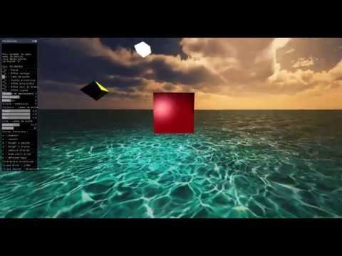 Small 3D graphics engine showcase