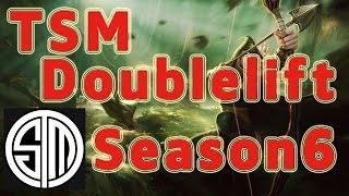 TSM Doublelift Ashe ADC vs Ezreal Patch 6.11