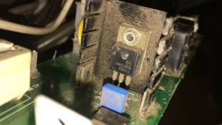 Hobart handler 135 wire feed speed problem repair fix