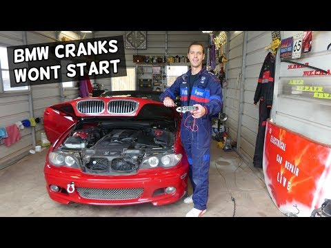 BMW CRANKS BUT WONT START | ENGINE NOT STARTING