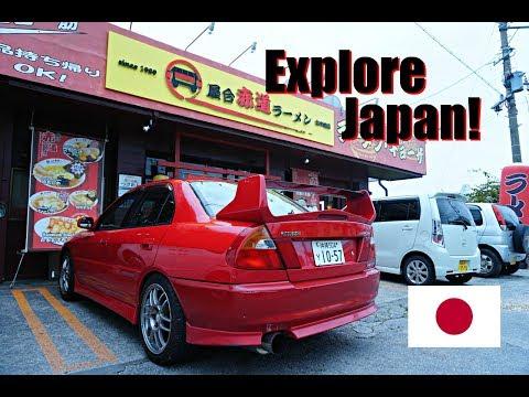 Exploring Okinawa in the Evo