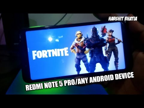Fortnite for Redmi Note 5 Pro/ Redmi Note 4 - Download Fortnite for Android - Fortnite Apk+Obb - 동영상