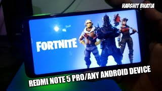 Fortnite pour Redmi Note 5 Pro/ Redmi Note 4 Télécharger Fortnite pour Android .fr. Fortnite Apk-Obb (en)