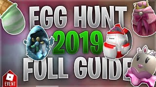 How to Get all the Eggs in the Egg Hunt [Partie 3] (Roblox Egg Hunt 2019 Guide)