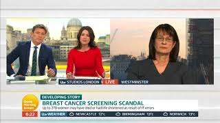 Public Health England Responds to Breast Cancer Screening Scandal|Good