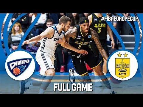 BC Dnipro (UKR) v Aris (GRE) - FIBA Europe Cup 2018-19