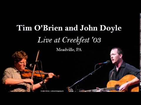 Tim O'Brien and John Doyle at Creekfest '03