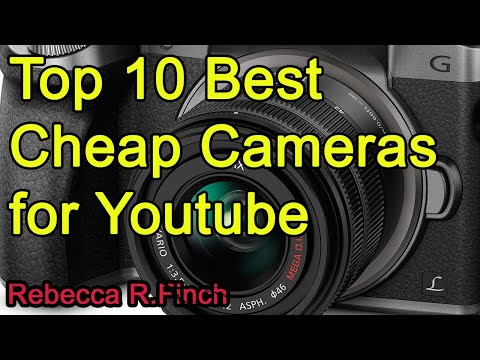 Top 10 Best Cheap Cameras for Youtube 2019 2020